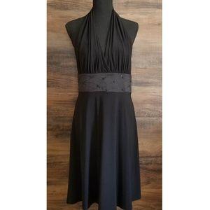 EUC Evan Picone Halter Cocktail Dress